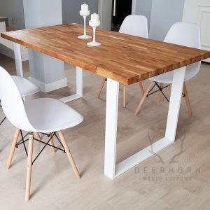biały stół industrialny