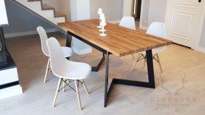nowoczesny stół industrialny loft