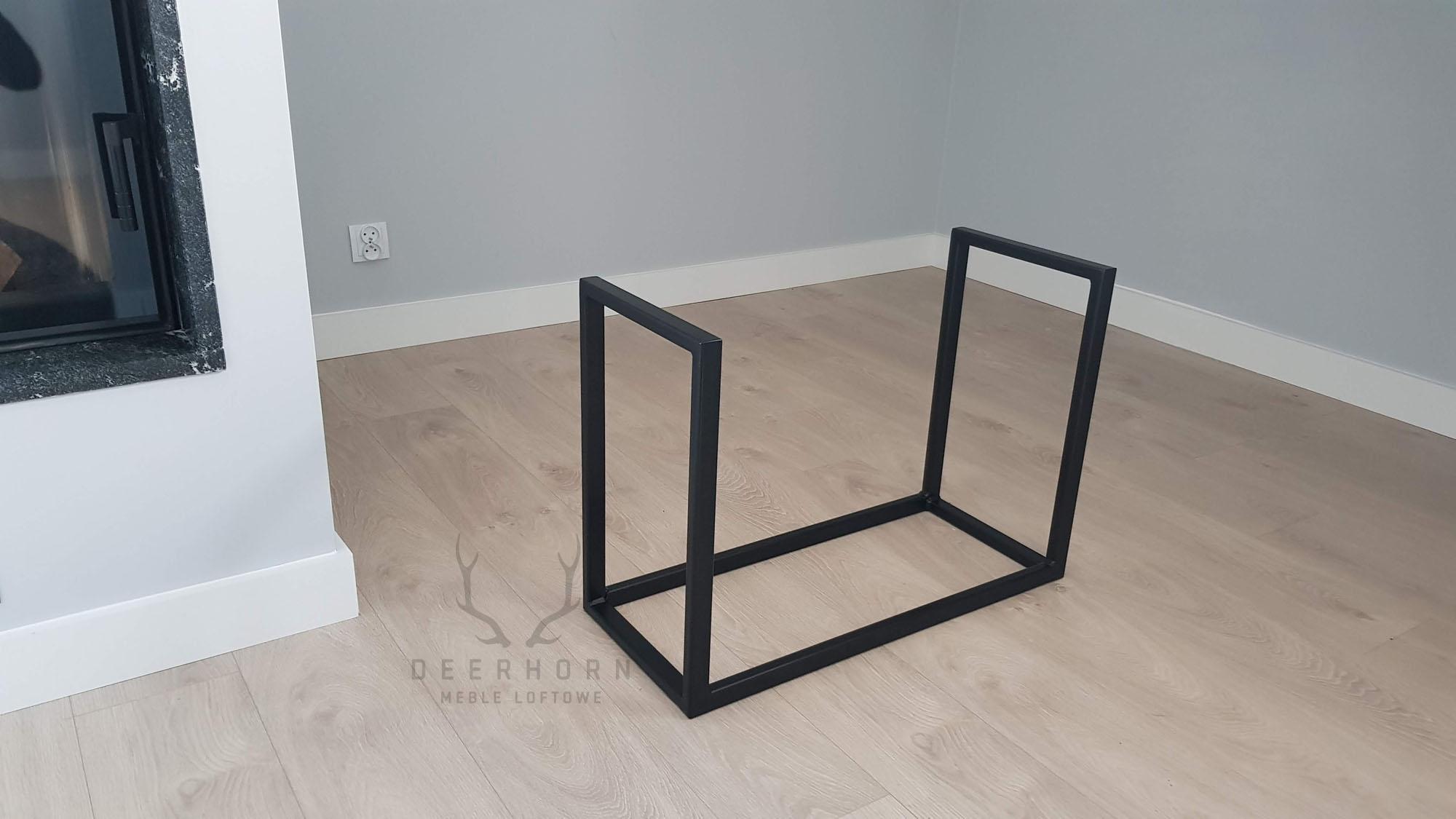 Metalowy Stojak Na Drewno Do Kominka Styl Loftowy