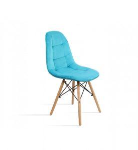 Krzesło w kolorze morskim