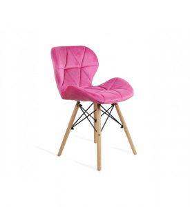 Krzesło z drewnianymi nogami