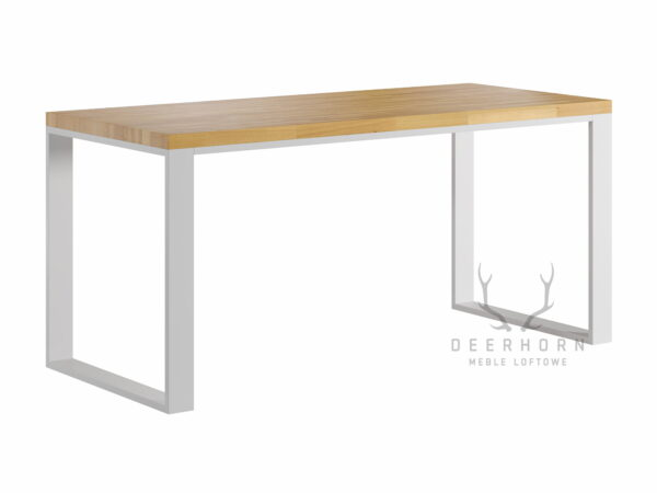 biurko w białym kolorze