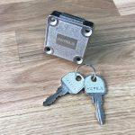 szafka zamykana na klucz