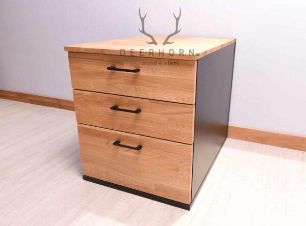drewniany kontenerek