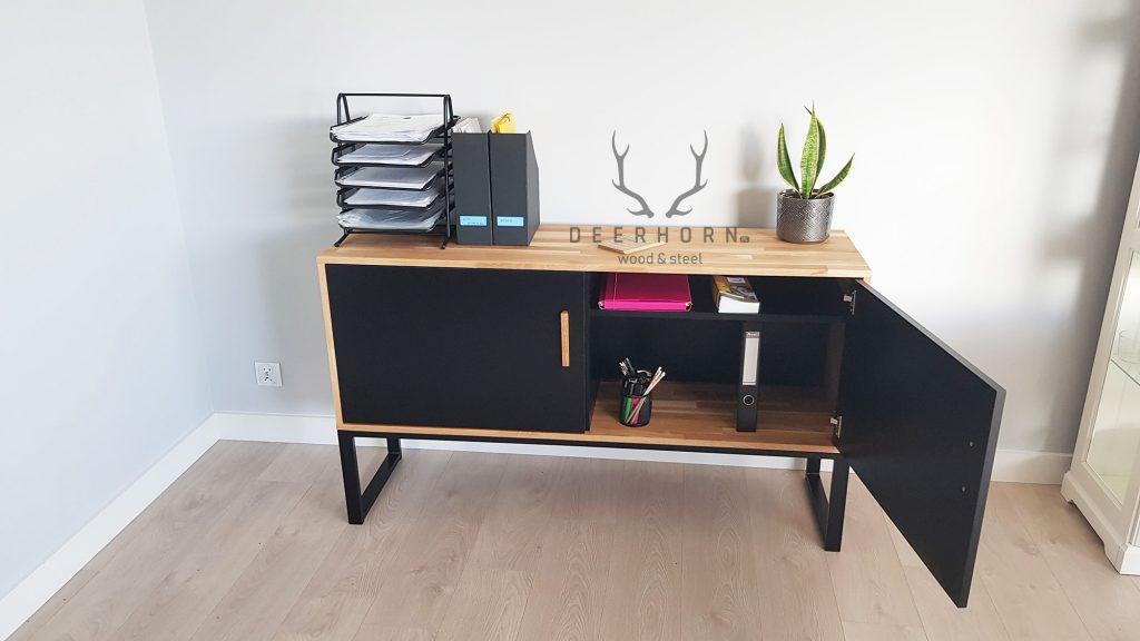 meble z drewna do biura
