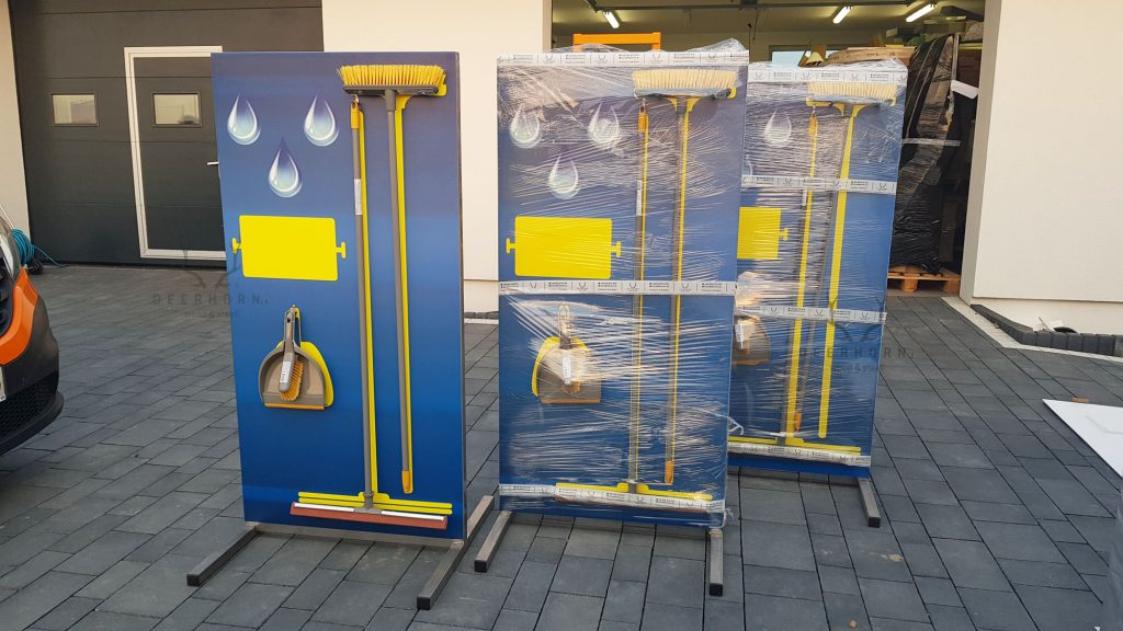 hygiene station on production