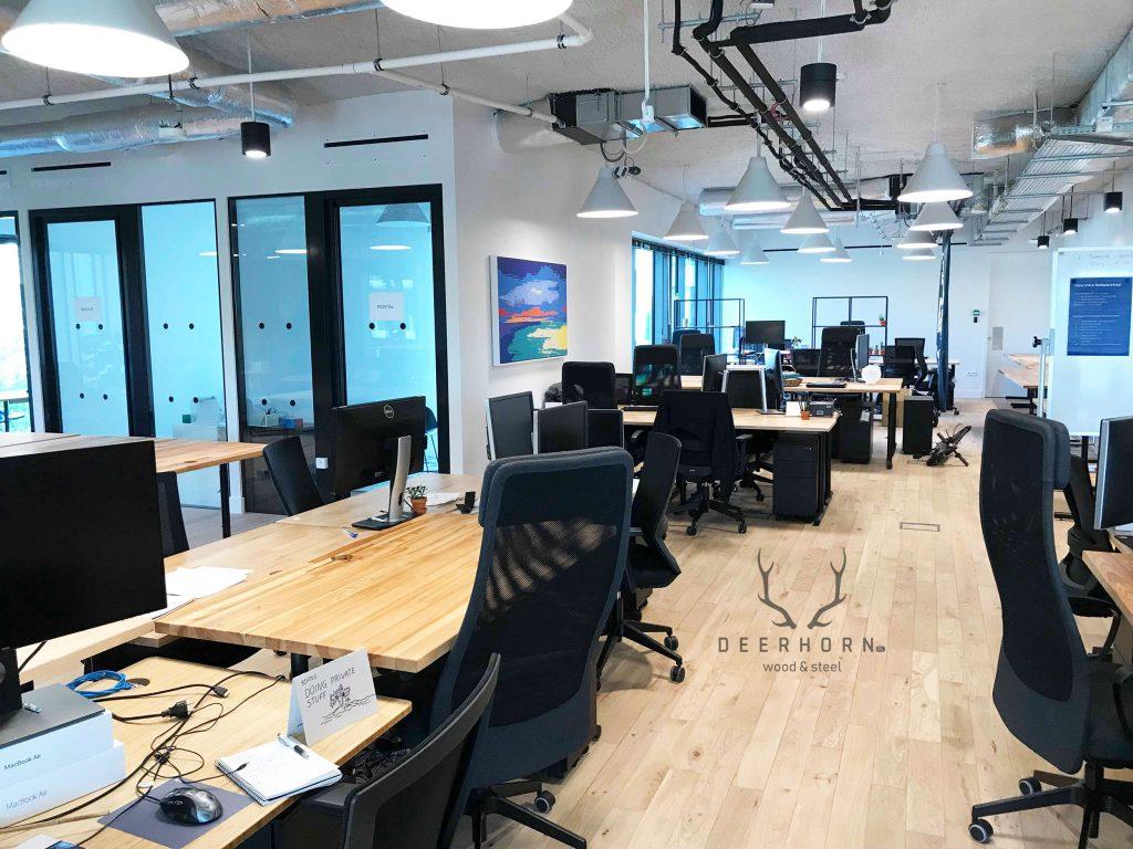 meble do biura w stylu industrialnym loft
