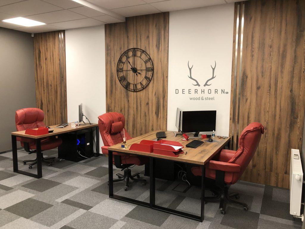 umeblowanie biura w stylu loft