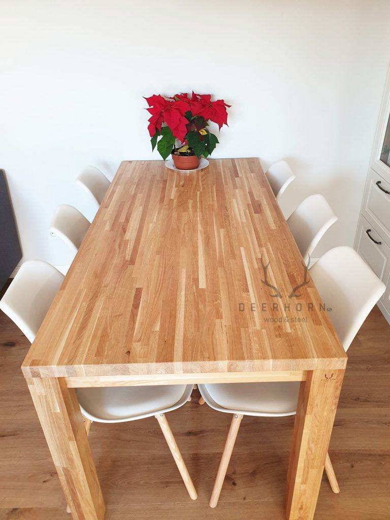 meble z drewna do kuchni i salonu