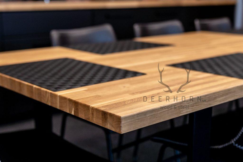 stół do firmowej kuchni