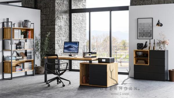 biuro w stylu loftowym
