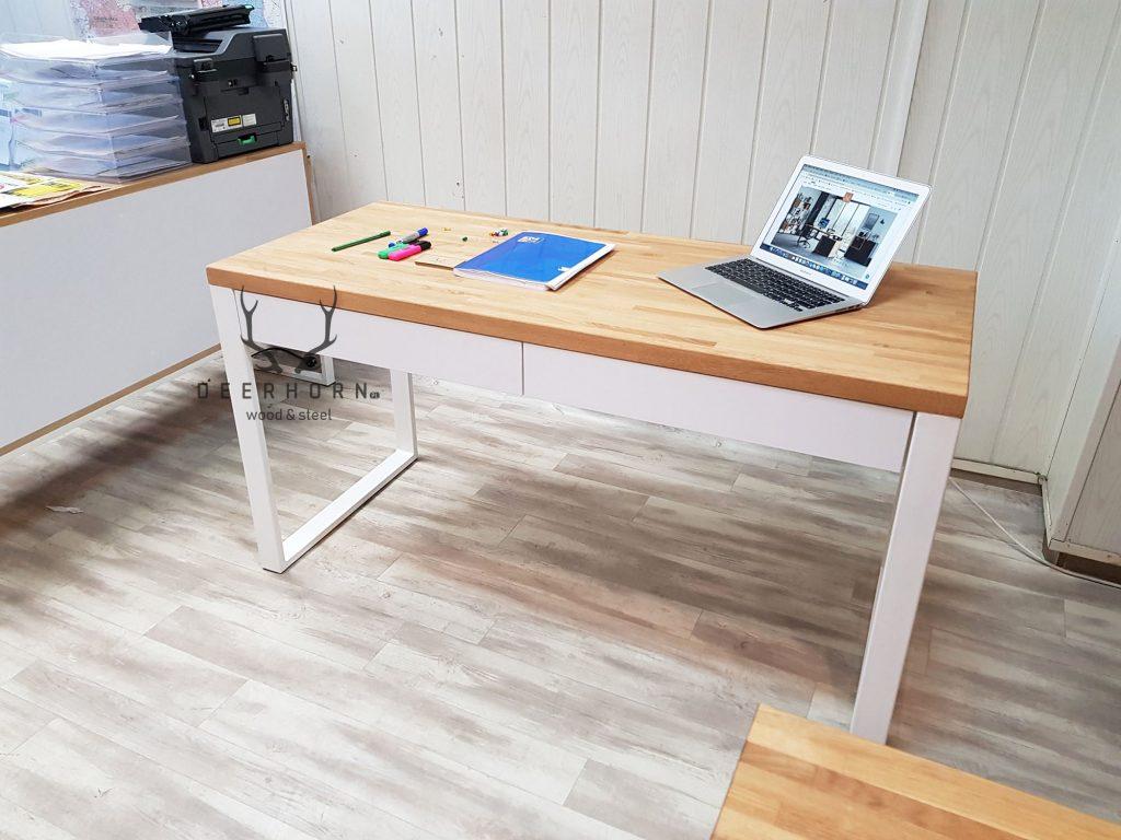 biurko młodzieżowe białe
