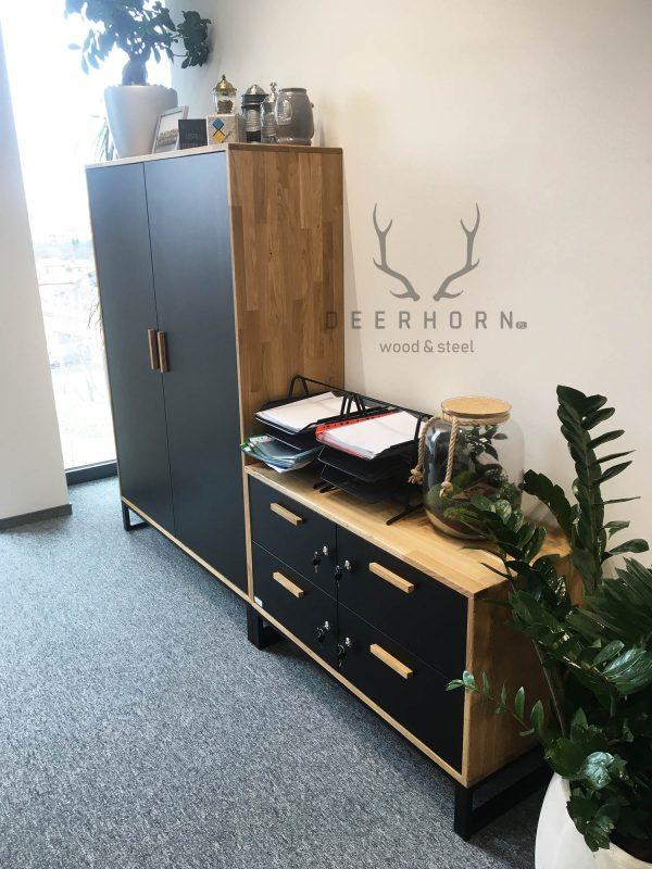 meble loft do biura