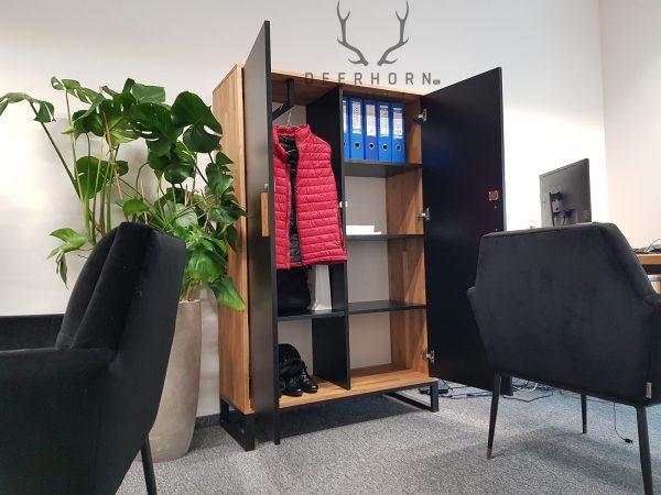szafa ubraniowa loft