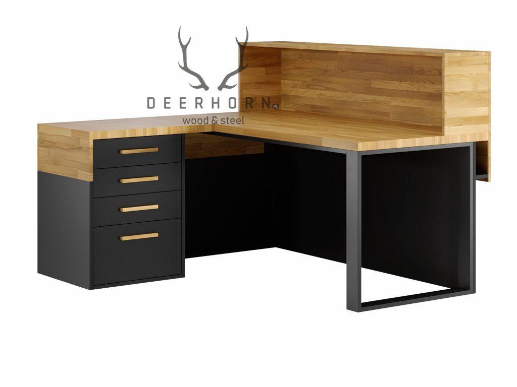 biurko znadstawką