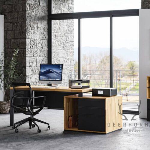 biurko industrialne premium