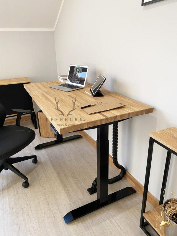 solidne biurko z regulacją