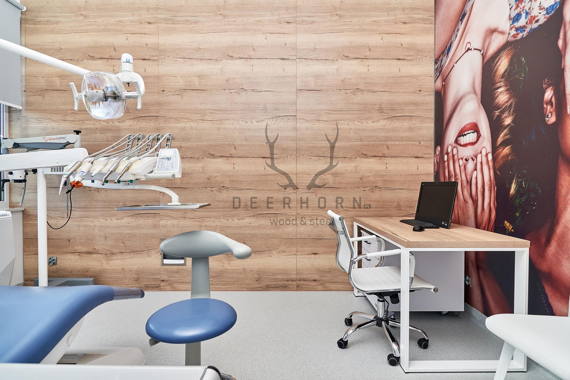 meble loftowe do gabinetu stomatologicznego
