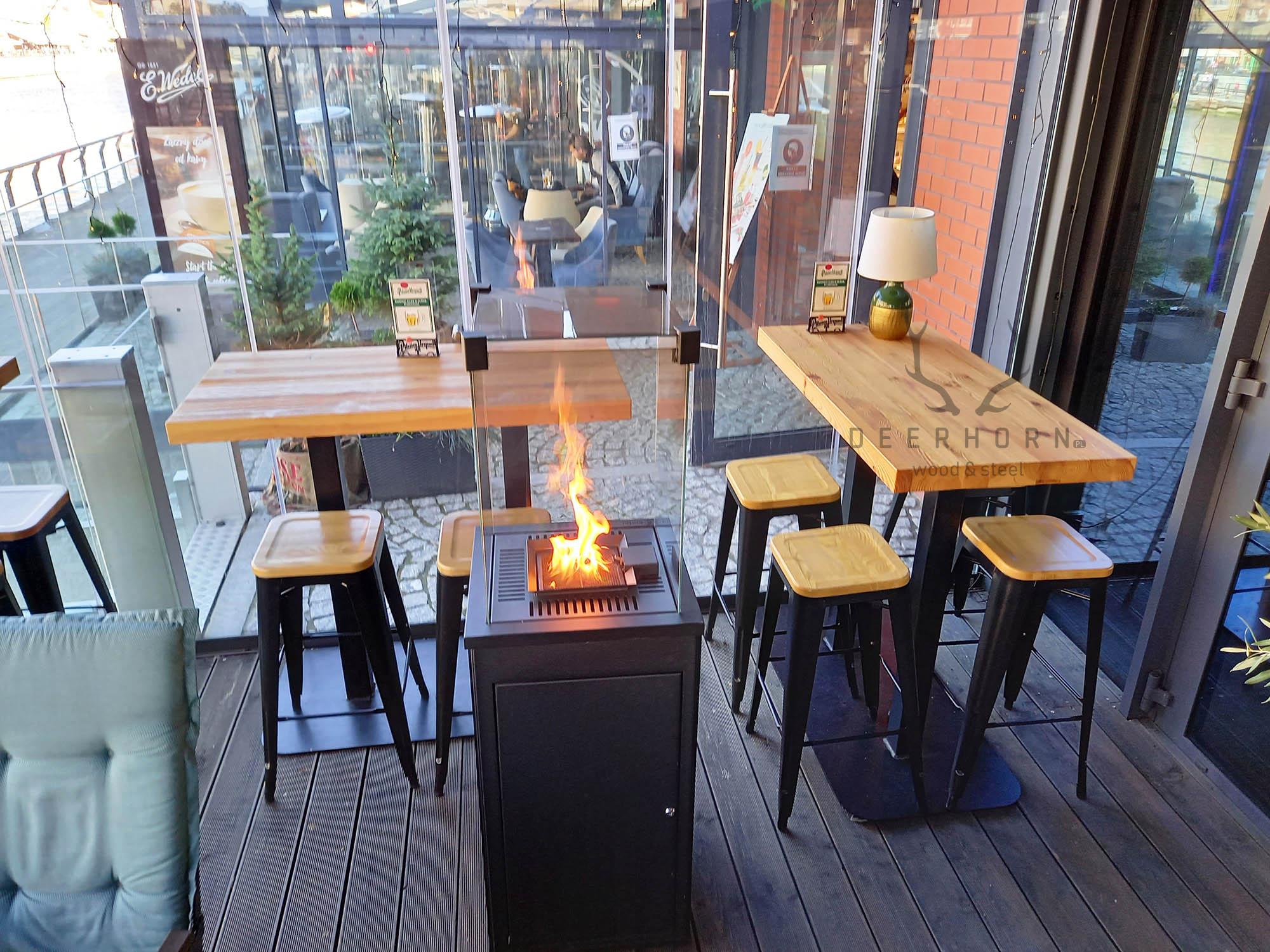 stolik do kawiarni loft