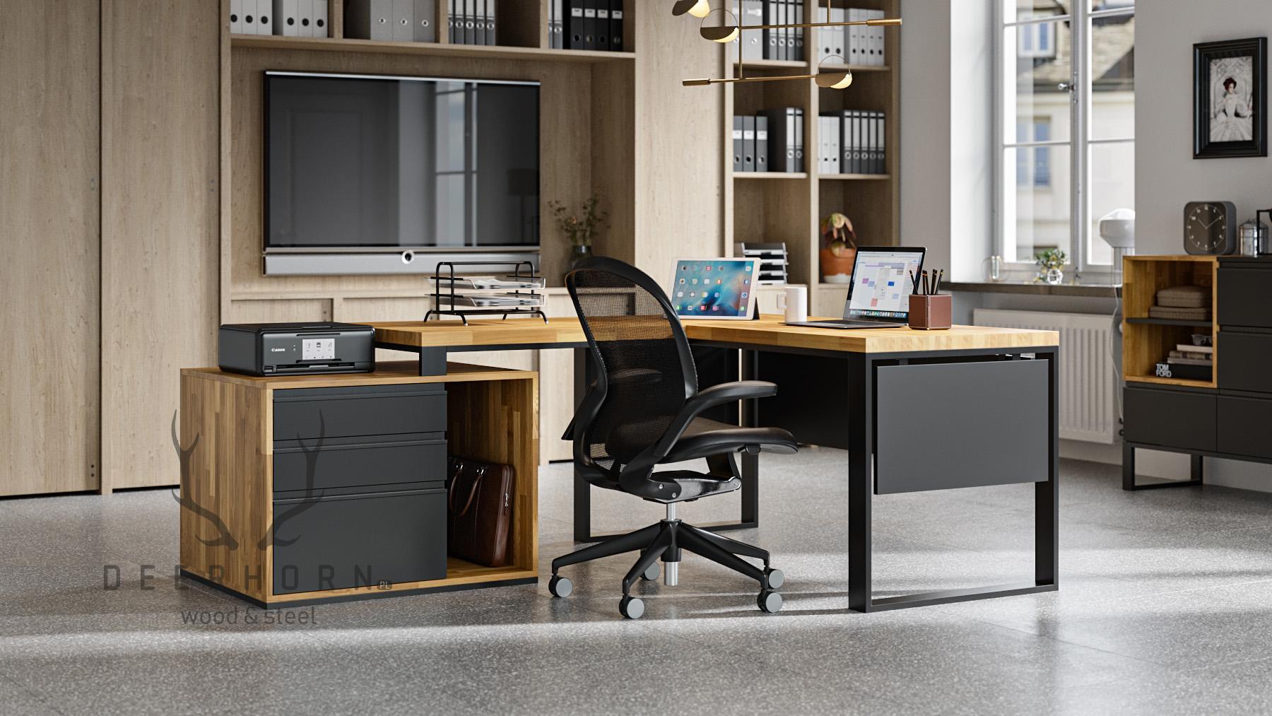 biurko narożne corner desk office plus