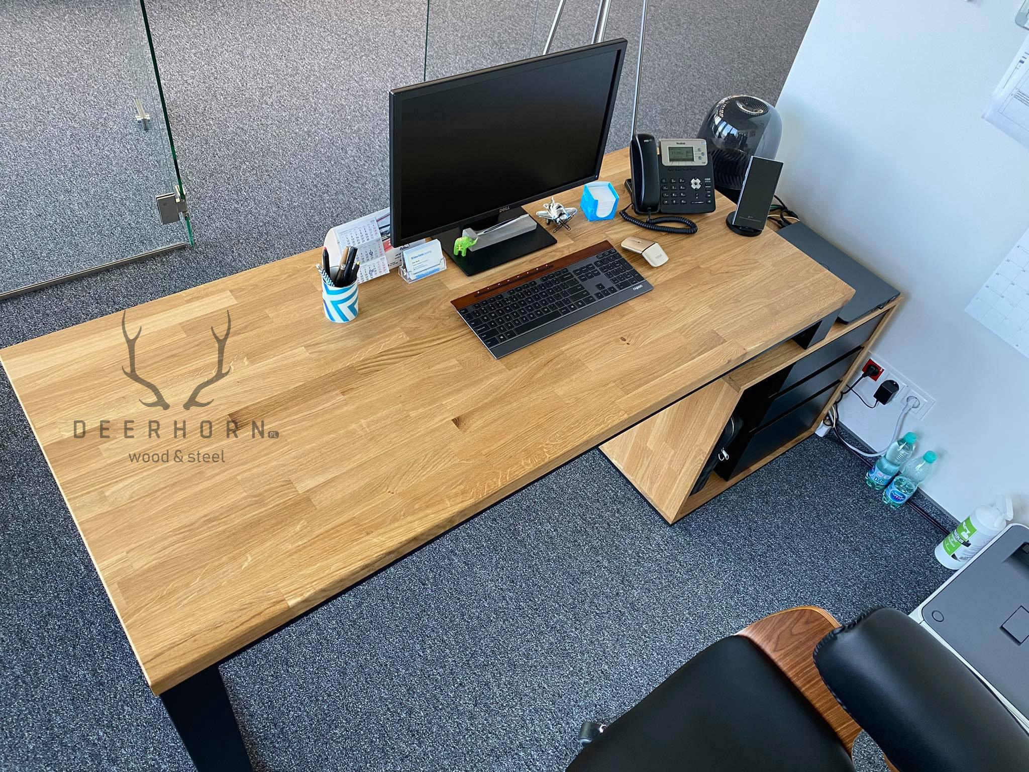 biurko loft office plus deerhorn