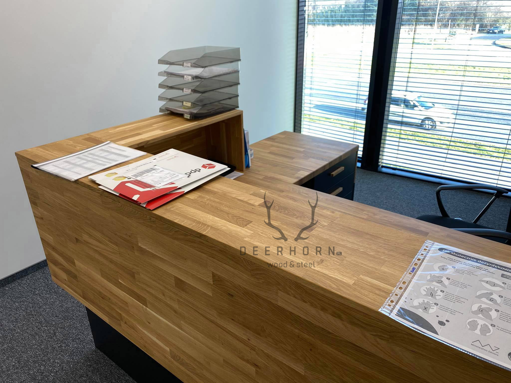 biurko recepcyjne