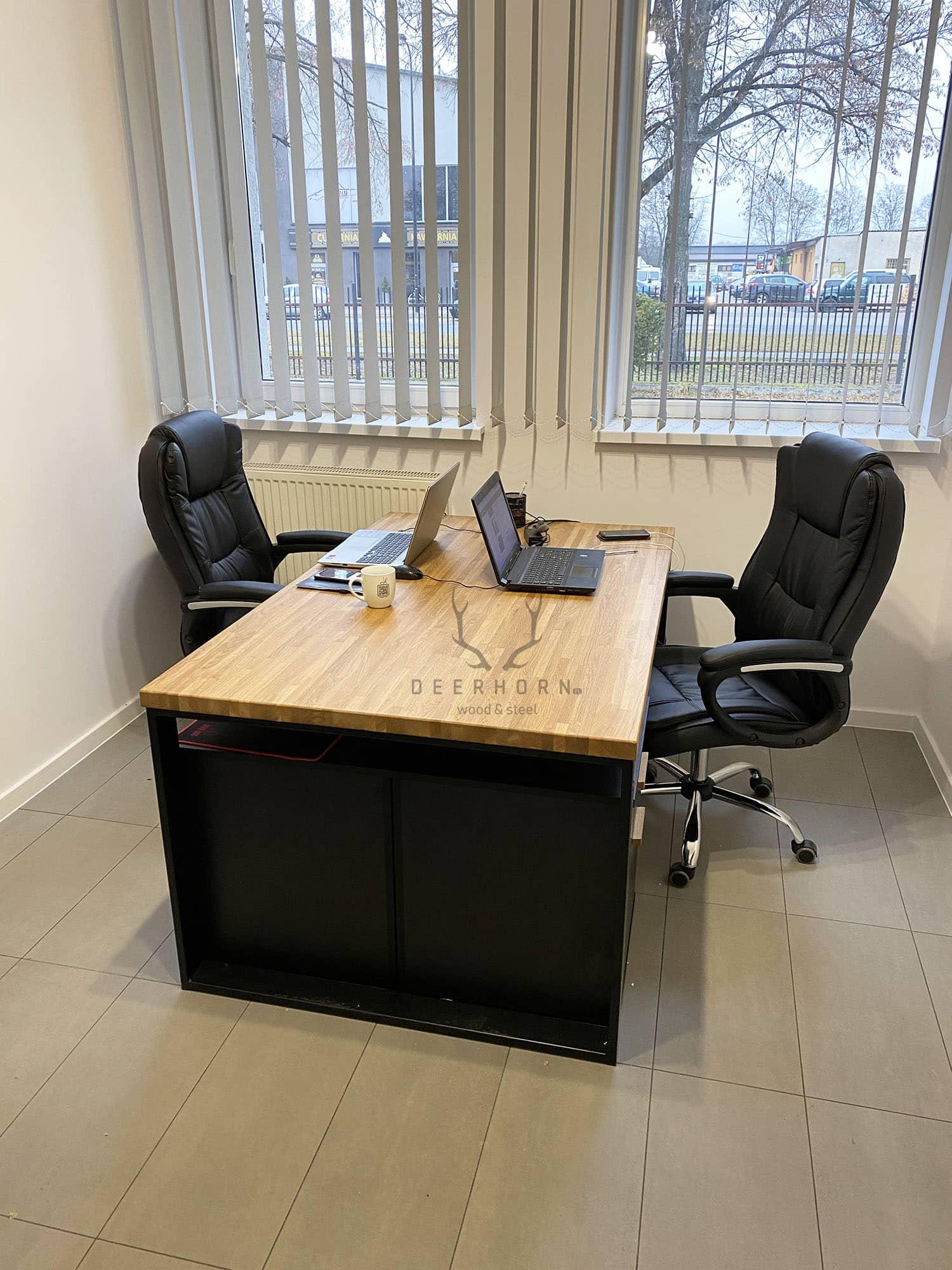 biurko loftowe industrialne