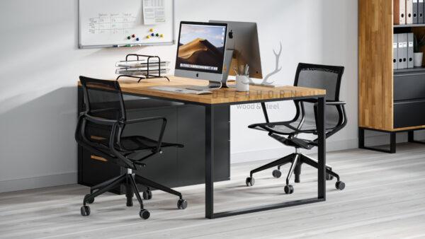 biurko na dwie osoby industrialne