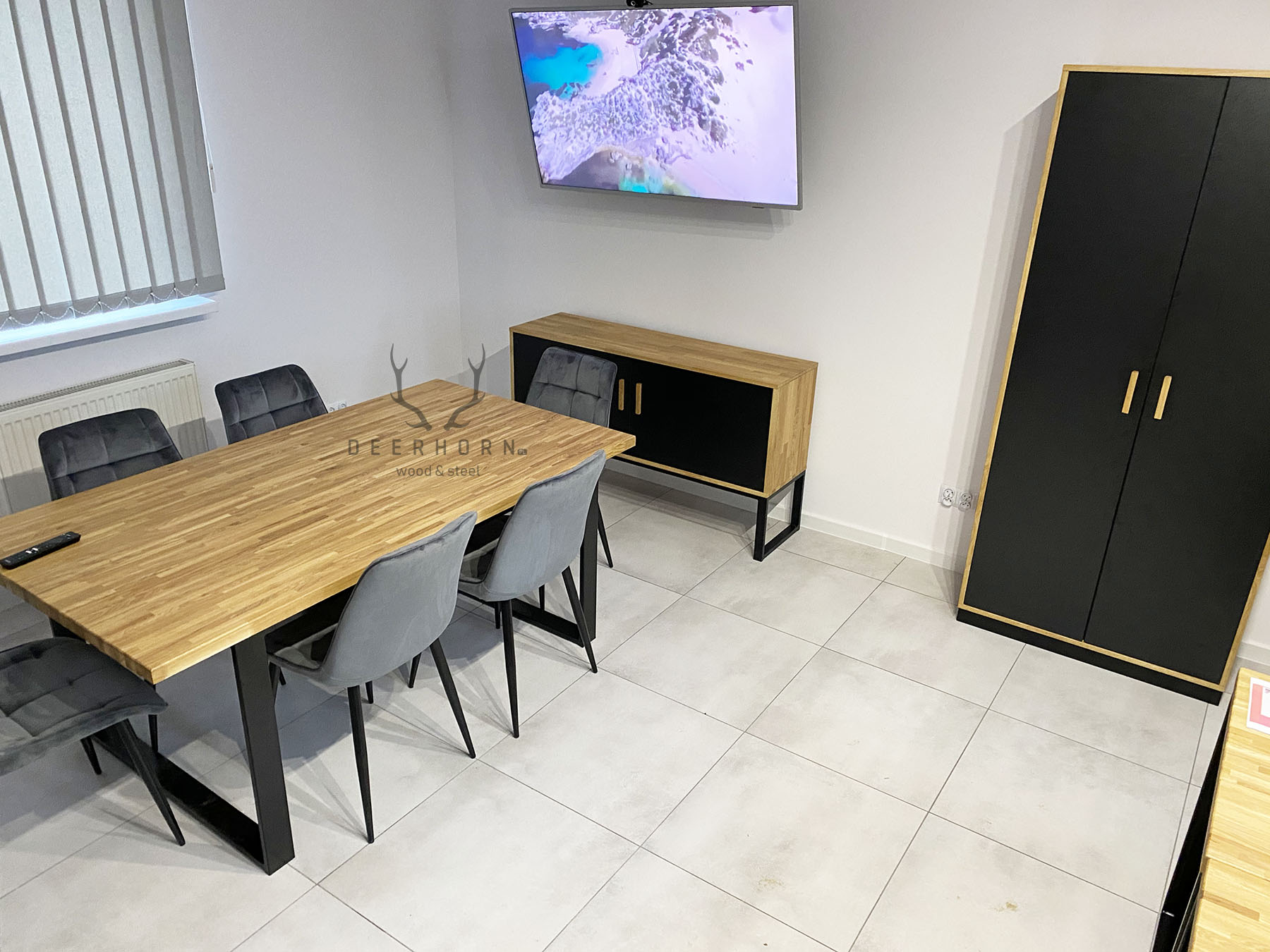 biurowe meble loftowe