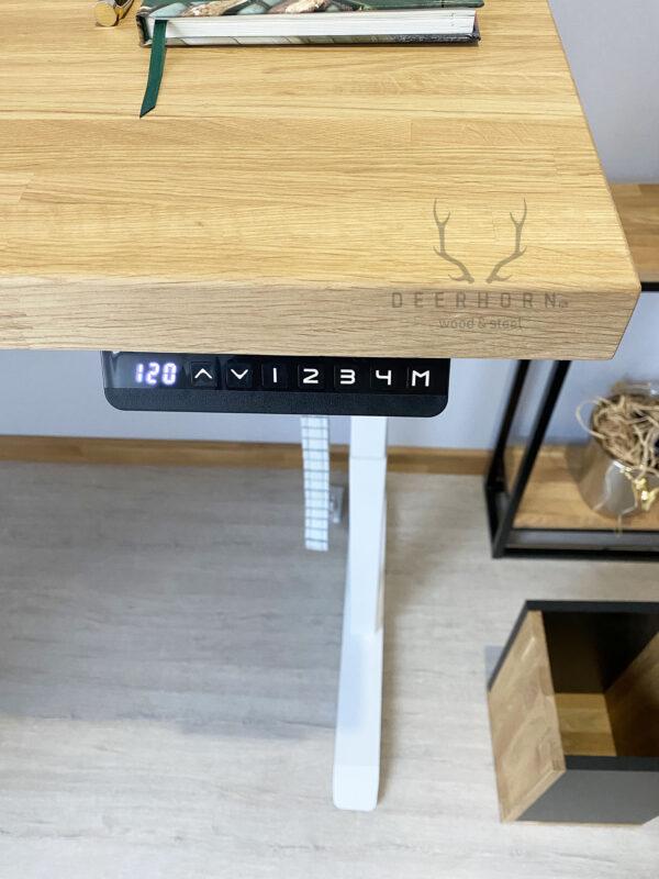 biurko z elektryczna regulacja wysokosci