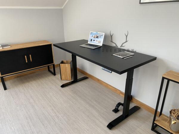 biurko z elektryczną regulacją