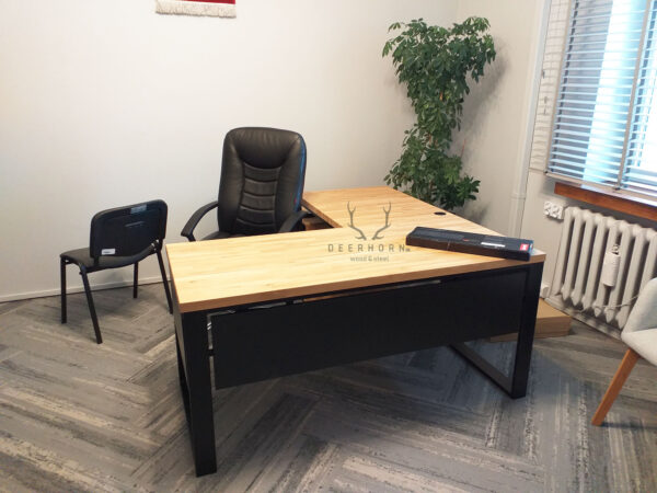 biurko narożne do gabinetu