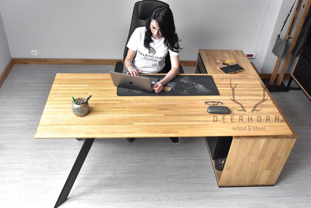 biurko narożne dogabinetu