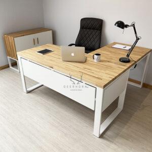 deerhorn białe biurko