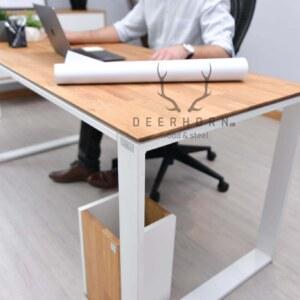 modne biurko industrialne