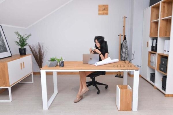 modne biurko loft