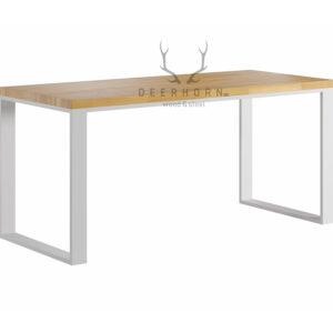 białe biurko