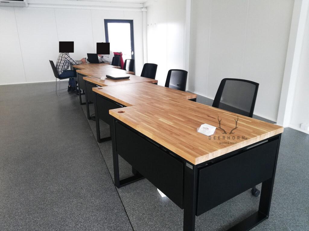 biurka zdrewna imetalu Warszawa