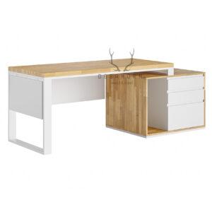 biurko białe loftowe