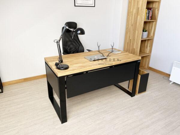 biurko gabinetowe loftowe