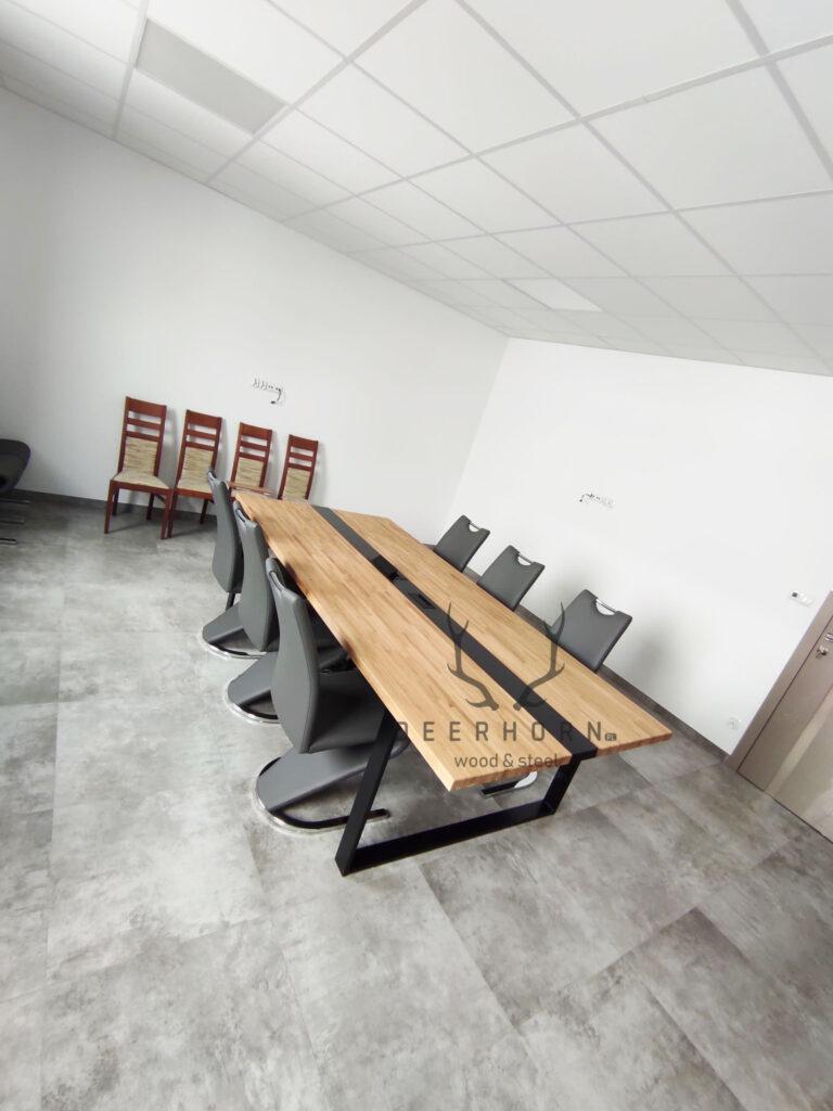 loftowe stoły konferencyjne