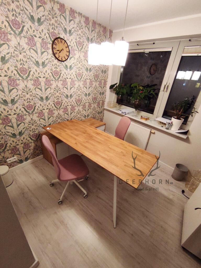 kobiece biurko loft