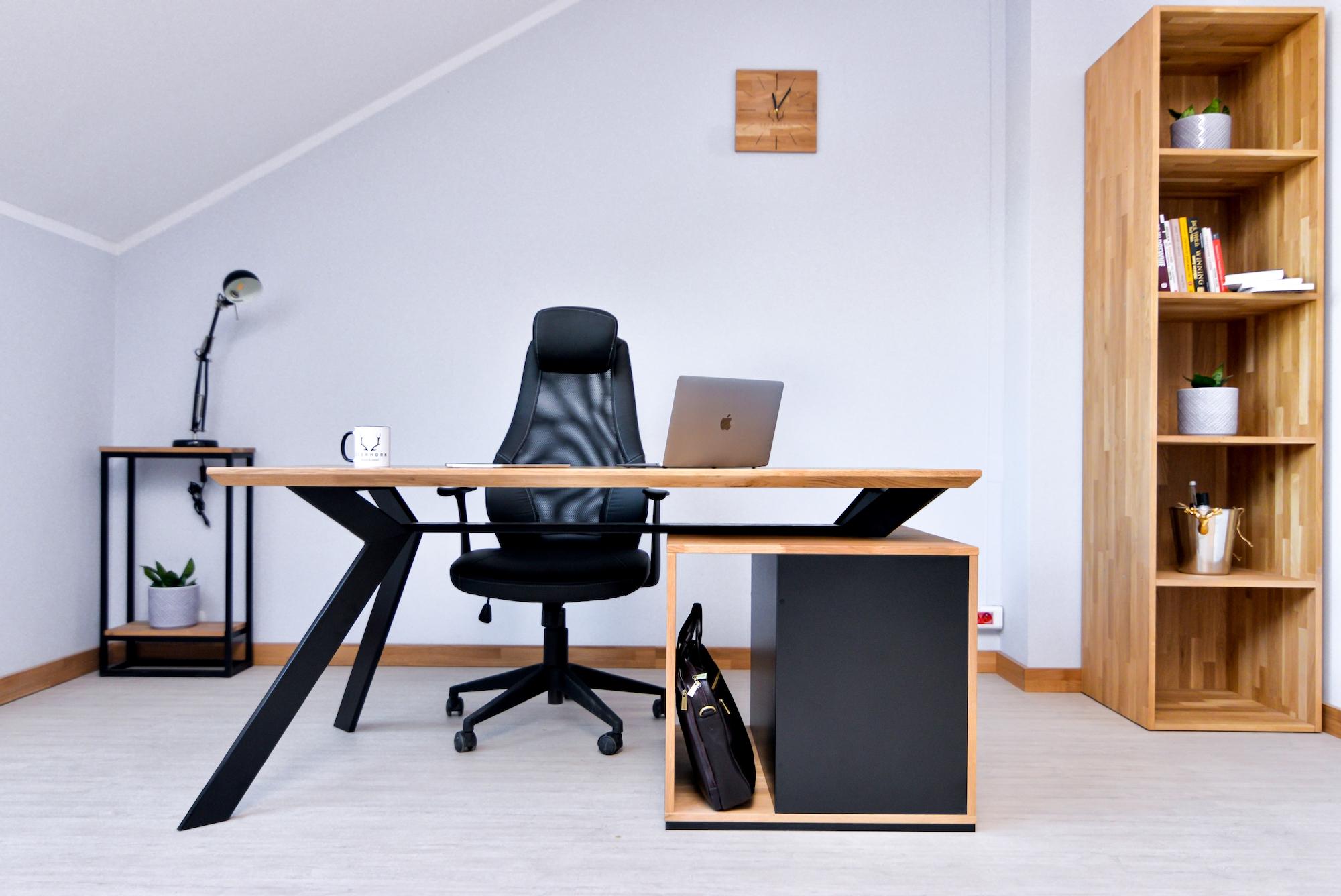 meble biurowe w stylu loftowym