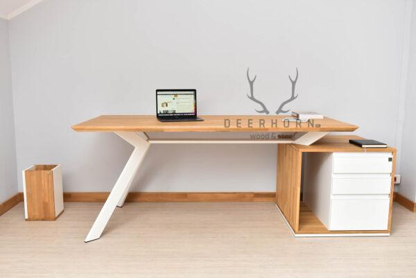 biurko białe premium