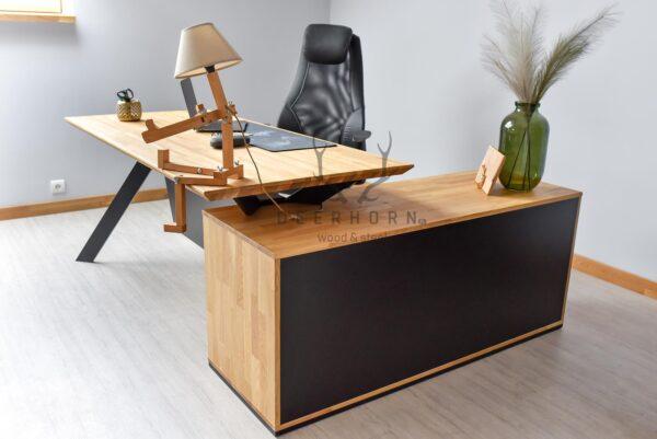 biurko gabinetowe narożne