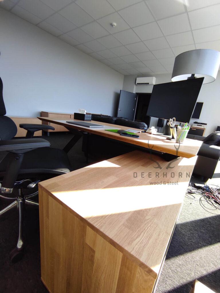 biurko loftowe narożne
