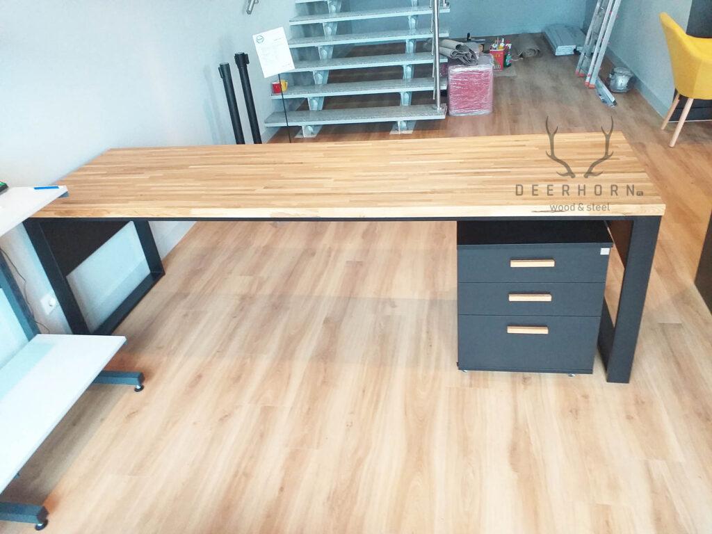 biurko loftowe zdrewna