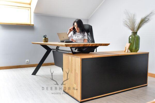narożne biurko Active
