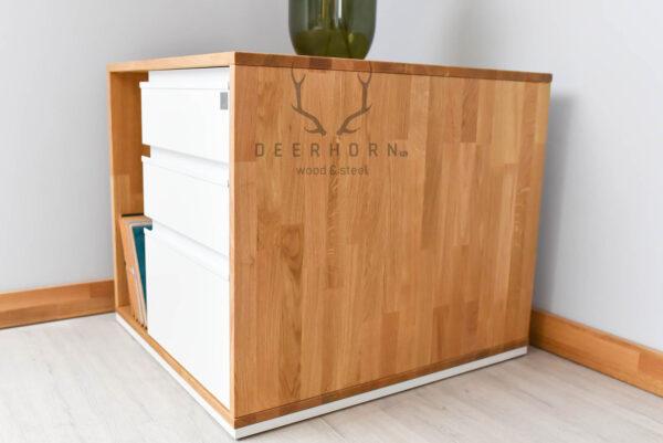 kontenerek do biurka loftowego