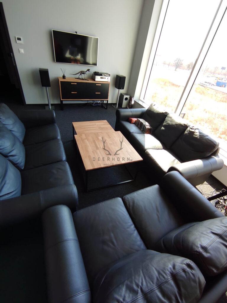 loftowe stoliki kawowe